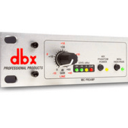 dbx 286s - Microphone Preamp/Channel Strip